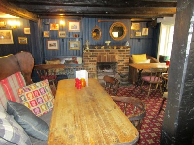 Dog walks and dog-friendly pub near Horsham, West Sussex - Driving with Dogs