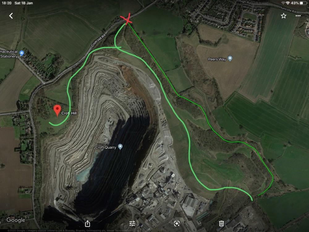 Interesting dog walk at Croft Quarry Nature Reserve, Leicestershire - 52A2979B-89C9-4B90-8E73-D5C56FC801BE.jpeg