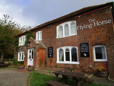 A28 near Ashford dog walk and dog-friendly pub, Kent - Driving with Dogs