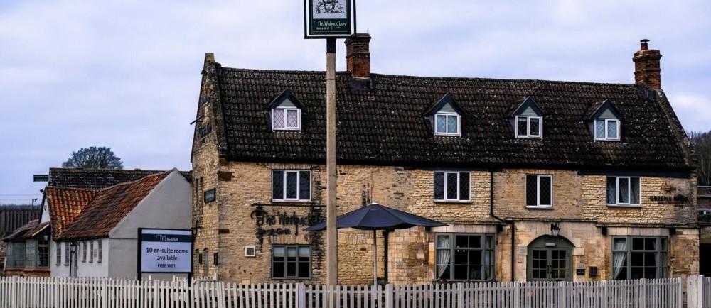 A14 dog-friendly pub and dog walk near Kettering, Northamptonshire - The-Woolpack-Inn-dog-friendly.jpg