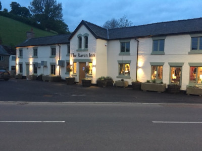 A458 Welshpool dog-friendly pub, Wales - Driving with Dogs