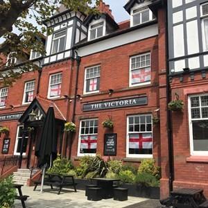 A584 dog-friendly pub, Lytham St Anne's, Lancashire - The Victoria Hotel