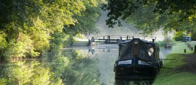 A3 towpath walk near Dorking, Surrey - Driving with Dogs