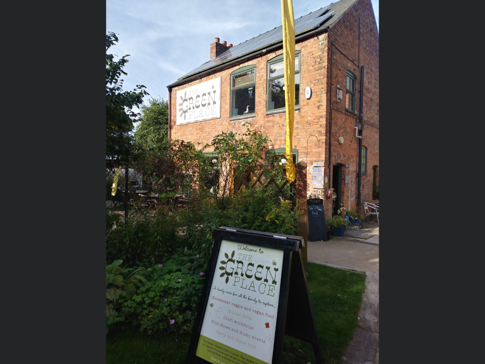 Unique dog friendly Veggie vegan cafe and hidden green oasis, Leicestershire - 98C1C721-137F-44E6-87A3-5FF623A4B48B.png