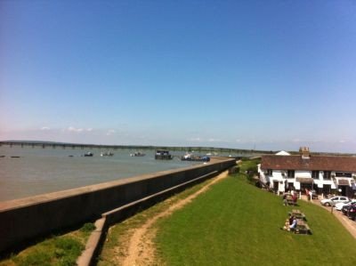 Dog-friendly riverside pub, Essex - Driving with Dogs