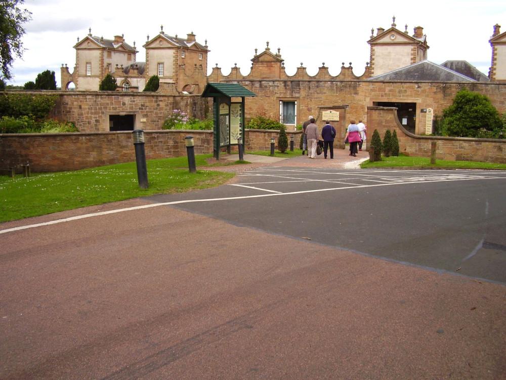 M74 Junction 7 Country Park dog walk, Scotland - Dog walks in Scotland