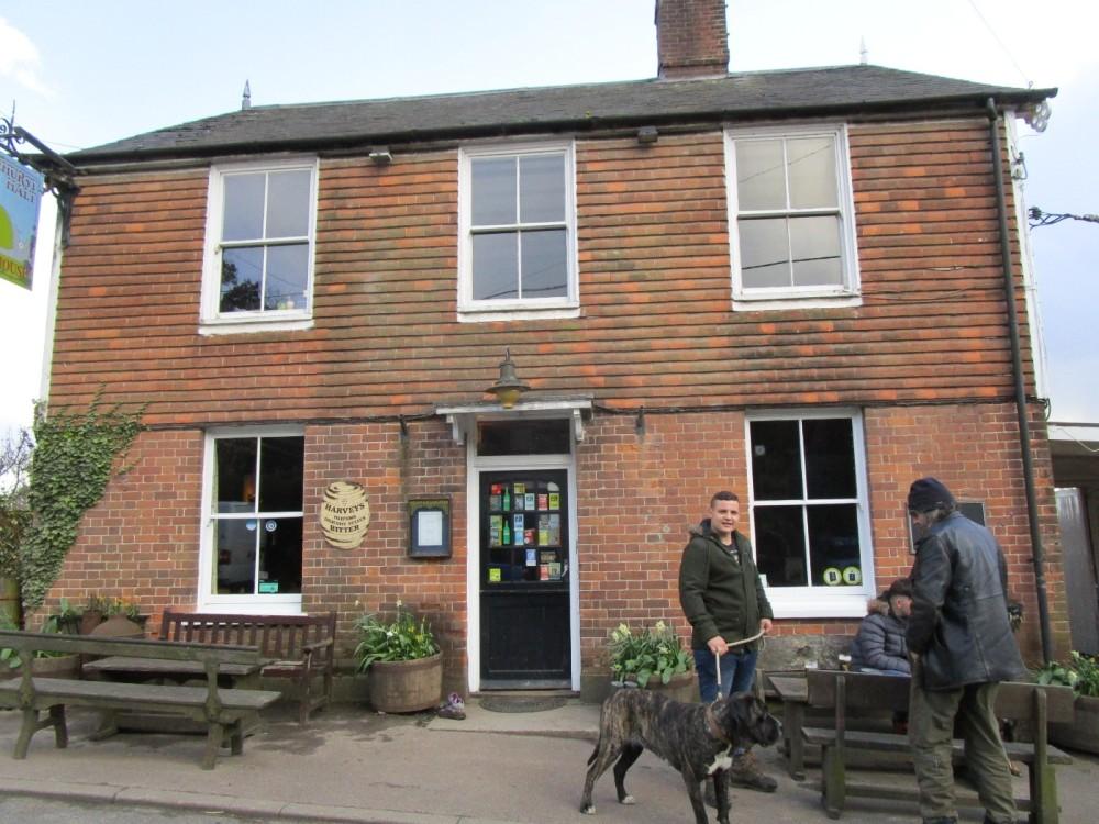 A21 dog walks and dog-friendly village inn, East Sussex - Dog-friendly pubs with dog walks East Sussex.JPG