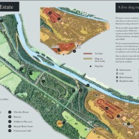 Woodlands, River and Garden dog walks at Cliveden, Buckinghamshire - Cliveden Dog Walk Map.JPG