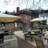Eashing waterside A3 doggiestop, Surrey - Dog-friendly pub and dog walk near Godalming