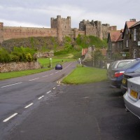 Bamburgh dog-friendly beach and dog-friendly pubs, Northumberland - Dog walk in Northumberland
