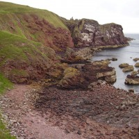 A1 coastal dog walk, Scotland - Dog walks in Scotland