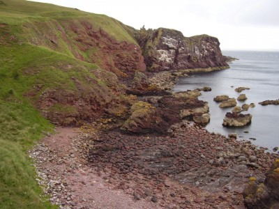 A1 coastal dog walk, Scotland - Driving with Dogs