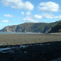 Lynmouth dog-friendly beach and dog walk, Devon - Dog walks in Devon