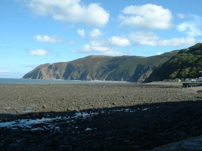 Lynmouth dog-friendly beach and dog walk, Devon - Driving with Dogs