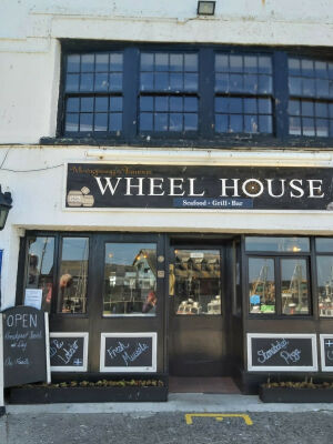 Dog Friendly Seafood and Grill Restaurant in Mevagissey, Cornwall - Driving with Dogs