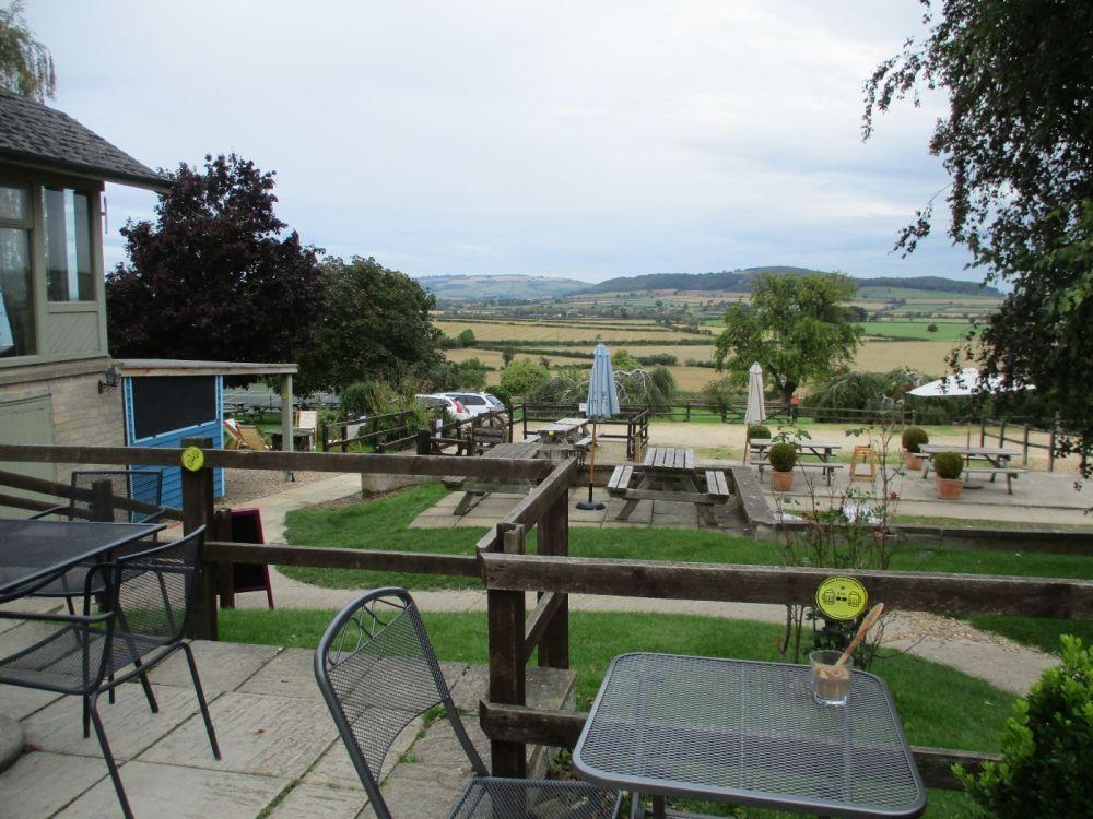 Dog-friendly refreshments near the Winchcombe Way, Gloucestershire - Cotswolds dog-friendly pub and dog walk.JPG