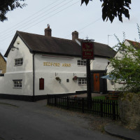 A6 doggiestop with village inn near Rushden, Bedfordshire - bedford_arms_A6-dogfriendly.jpg