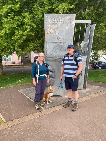 Taking Hoomum & Hoodad on an adventure to walk the SW Coast path