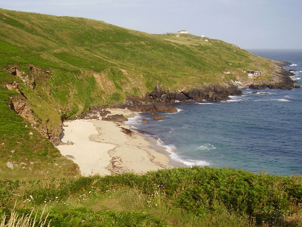 Portheras Cove - not so dog-friendly beach, Cornwall - Dog walks in Cornwall