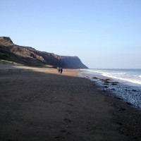 Skinningrove dog-friendly beach, Yorkshire - Dog walks in Yorkshire