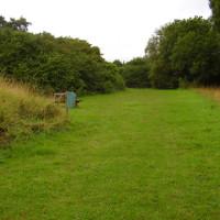 Old railway trail dog walk near Southwell, Nottinghamshire - Dog walks in Nottinghamshire