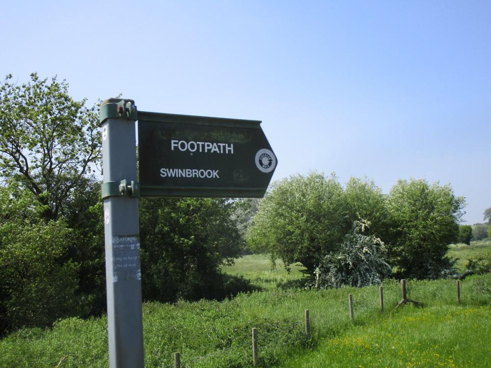 A40 dog-friendly pub and dog walk near Witney, Oxfordshire - Dog walks in Oxfordshire