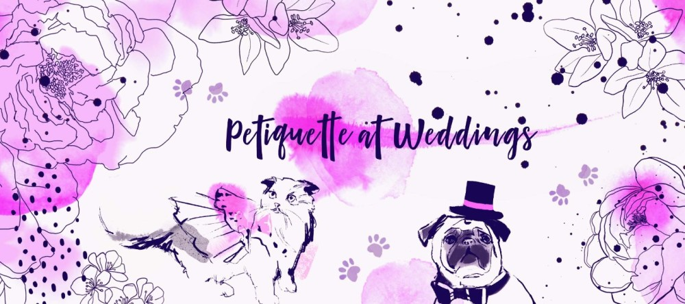 Petiquette for dog-friendly weddings