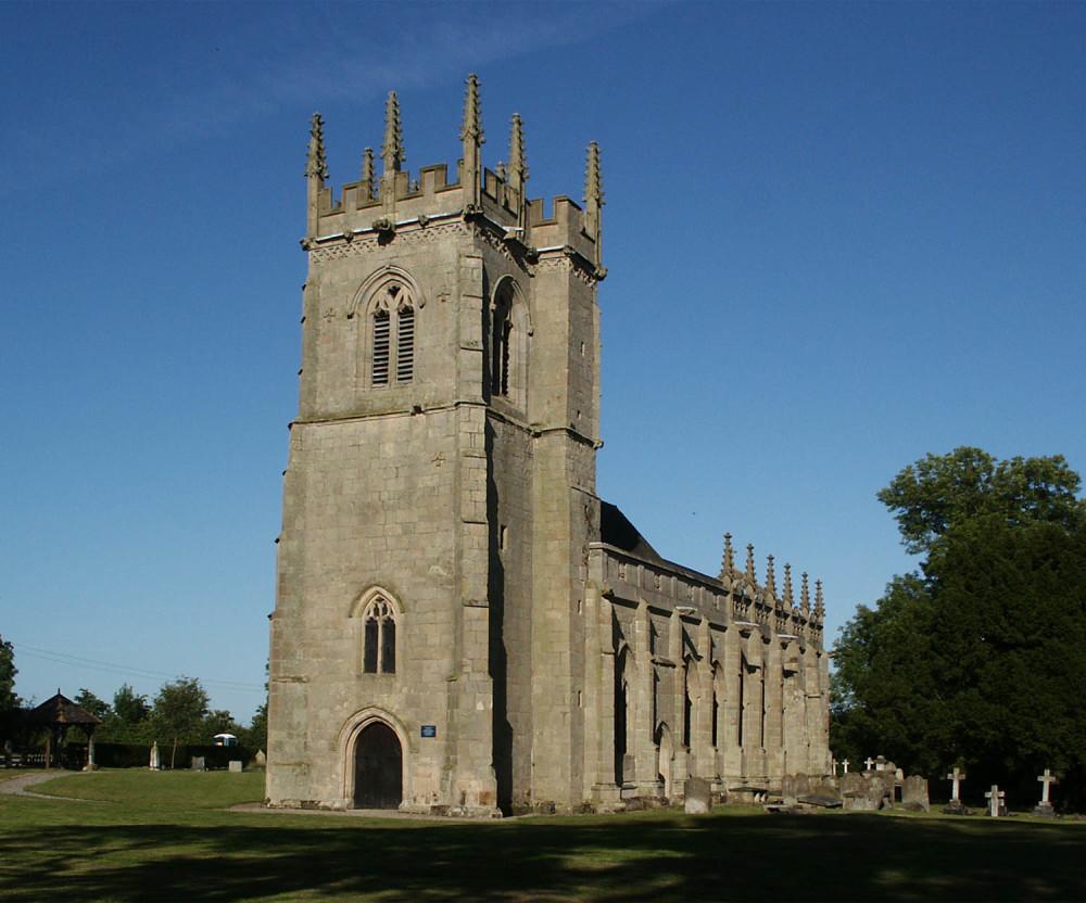Shrewsbury Battlefield, Shropshire - Dog walks in Shropshire