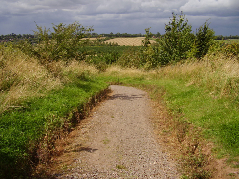 Sence Valley dog walk near Ibstock, Leicestershire - Dog walks in Leicestershire