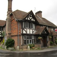 Tudor dog-friendly pub and dog walk, Kent - Kent dog-friendly pub and dog walk.JPG