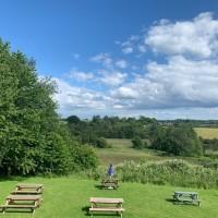 A38 dog-friendly country inn, dog walk and an uprising, Derbyshire - dog-pentrich.jpg
