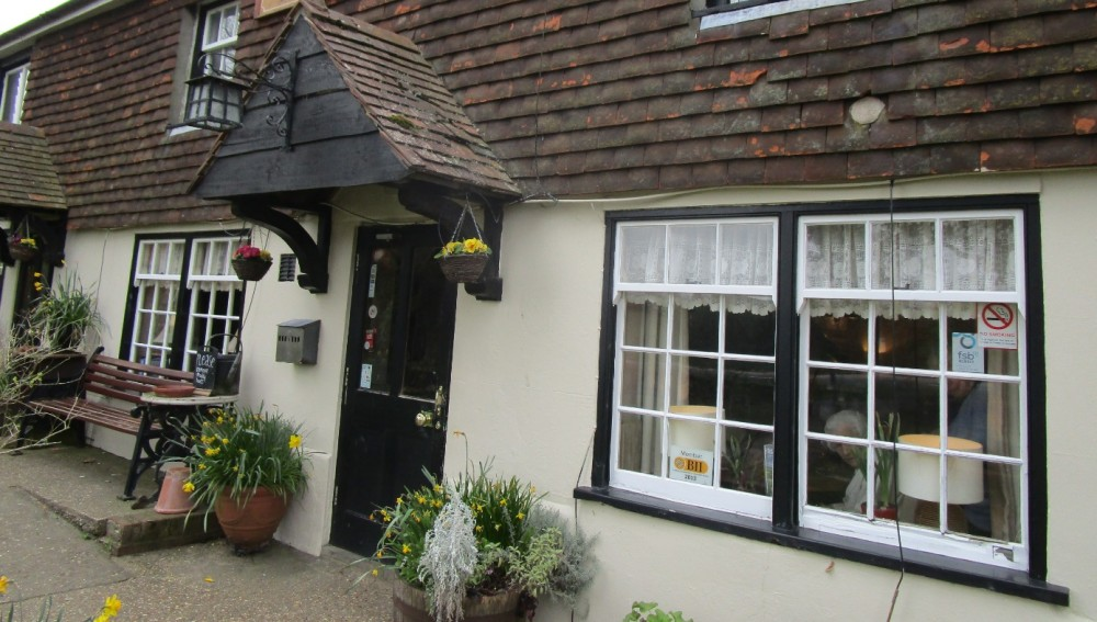 A286 doggiestop near Midhurst, West Sussex - Sussex dog-friendly pubs with dog walks.JPG