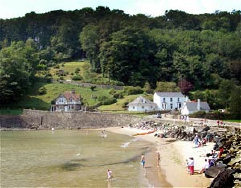 North Sands dog-friendly beach near Salcombe, Devon - Dog walks in Devon