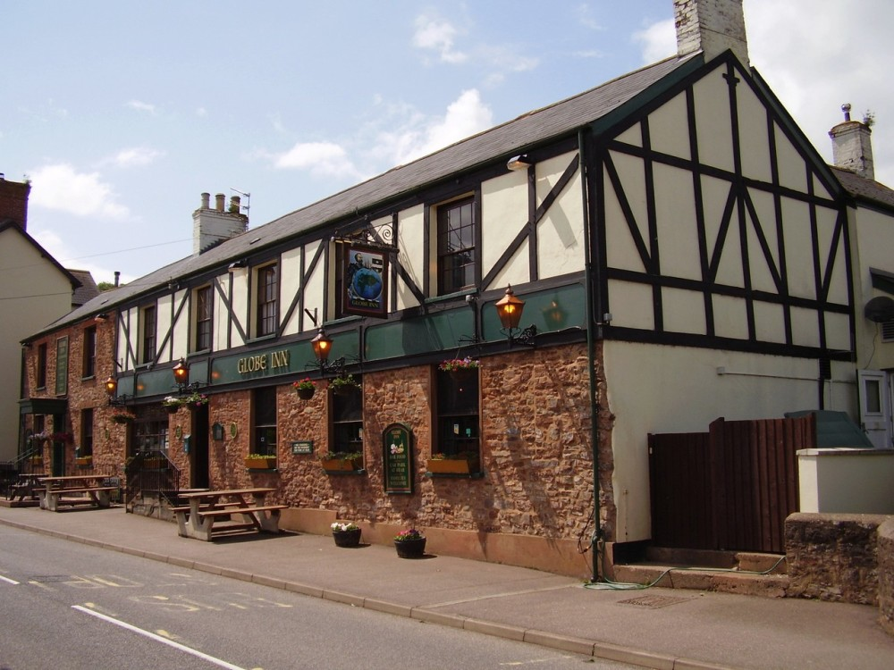 M5 Junction 27 dog-friendly pub and dog walk, Devon - Dog walks in Devon