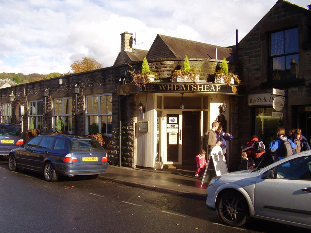 Bakewell dog-friendly pub, Derbyshire - Dog walks in Derbyshire
