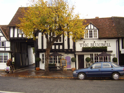 Henley-in-Arden dog-friendly pub, Warwickshire - Driving with Dogs