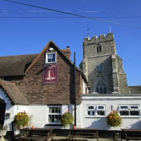 A259 dog walk and dog-friendly pub near Brenzett, Kent - Kent dog-friendly pubs with dog walks
