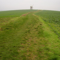 Chesterton Windmill dog walk, Warwickshire - Dog walks in Warwickshire