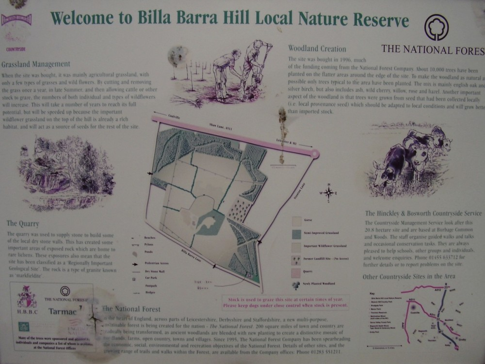 Nature reserve dog walk near Leicester, Leicestershire - Dog walks in Leicestershire