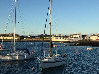 Magical harbourside inn by the sea, Scotland - Driving with Dogs