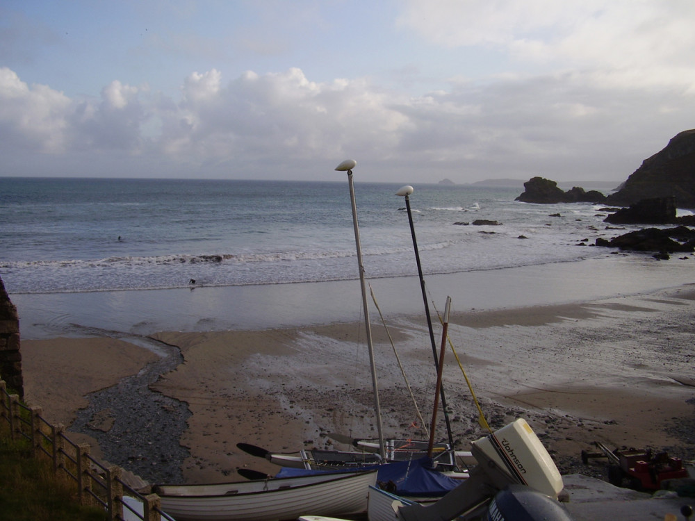 Dog-friendly pub, beach and dog walk near St Agnes, Cornwall - Dog walks in Cornwall