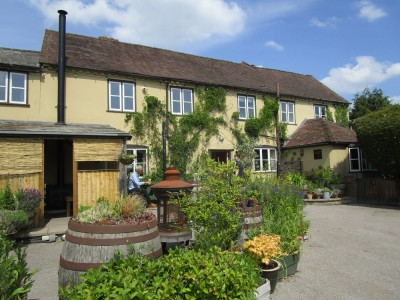 Madresfield dog-friendly pub and dog walk, Worcestershire - Driving with Dogs