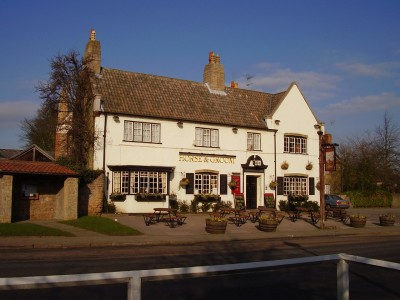M1 Junction 27 dog walk and dog-friendly pub, Nottinghamshire - Driving with Dogs