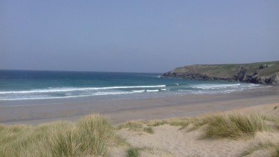 Holywell Bay Beach - dog-friendly, Cornwall - Driving with Dogs
