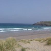 Holywell Bay Beach - dog-friendly, Cornwall