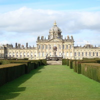 A visit to Castle Howard with the dog, Yorkshire