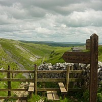 Limestone Walk with the dog at Malham, Yorkshire - Dog walks in Yorkshire
