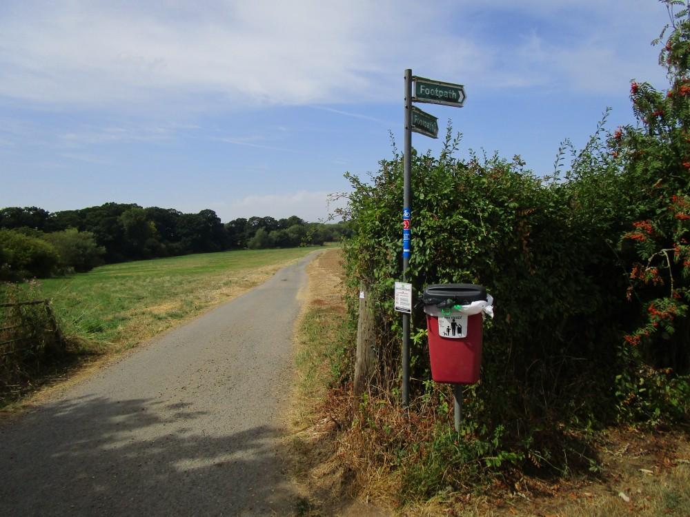 Arthingworth dog walk and dog-friendly pub, Northamptonshire - Dog-friendly pub and dog walk in Northamptonshire