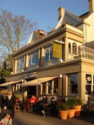 Thames riverside dog walk and dog-friendly pub, Surrey - Driving with Dogs