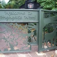 Highgate Wood local dog walk, Greater London - Dog walks in Greater London